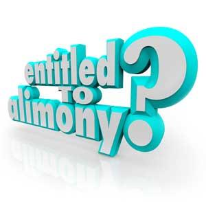 getting alimony